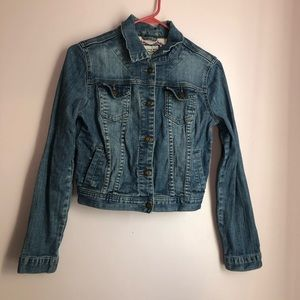 Super cute denim jacket! That will last for years